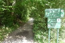 Extremo E de la Pradera de Ordesa: inicio del camino hacia la Cola de Caballo.