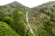 Cascada que hace el río Salòria.