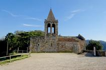 Iglesia de Sant Cosme y Sant Damià.
