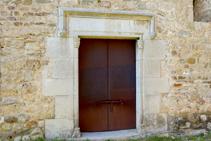 Portal de Can Bota.