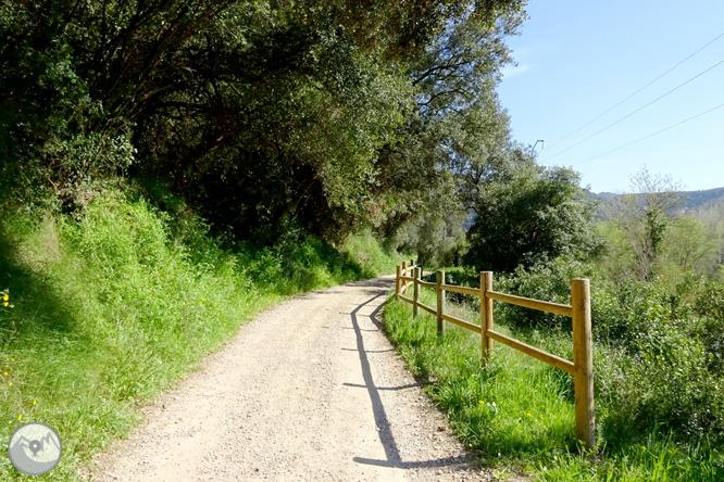 El desfiladero del Ter y la montaña de los Sants Metges 1