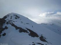La vertiente sur de Cambre d´Aze es mucho menos agreste y escarpada que la vertiente norte.