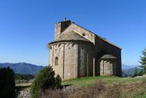 Iglesia románica de Sant Pere de Montgrony.