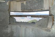 Interior del búnker.