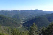 Vistas del valle de Gombrèn.