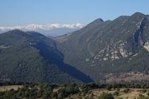 Sierra de Bestracà y el Pirineo oriental.
