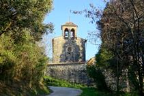 Ermita de Santa Cecília de Sadernes.