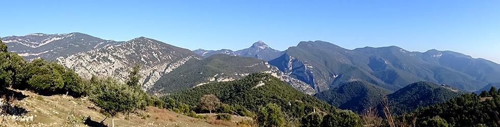 De Sadernes a Santa Bàrbara en la Alta Garrotxa