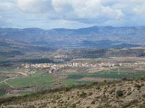 Vistas de Isona, la capital de la Conca Dellá