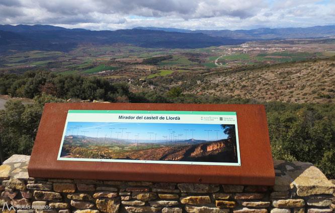 El castillo de llord rutas pirineos for Mirador del pirineo
