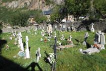 Cementerio del pueblo de Barruera, cabecera municipal del Valle de Boí.
