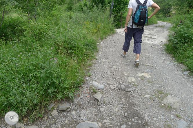 Paseo hasta El Salto en Sallent de Gállego 1
