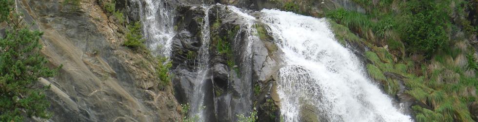Paseo hasta El Salto en Sallent de Gállego