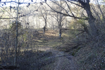 Llegamos al barranco de los Bodoluixos.