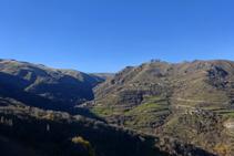 Vistas del Valle de Àssua.
