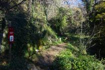 Fuente del barranco de Les Lleres.