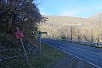 Llegamos a la carretera LV-5223.