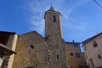 Sant Serni en medio de Altron.