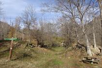 Zona de picnic desde donde iniciamos la subida a Sorre.