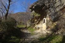 La pequeña capilla de Sant Jaume.