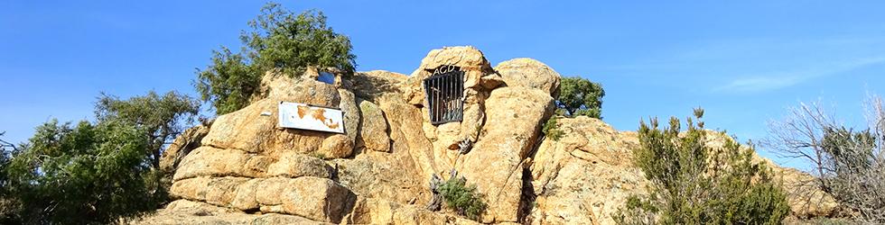 Els Carcaixells d�en Cama y el Montclar en la Ardenya