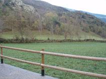 La ermita ya es visible desde este punto