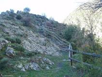 Última subida hasta lo alto de la colina