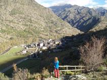 Vistas de Alins y del valle
