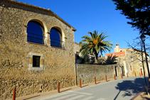Casas en la calle de la Constitució de Fonteta.