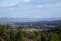 Vistas al macizo del Montgrí y las islas Medes.