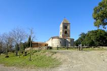 Conjunto románico de Santa Coloma de Fitor.