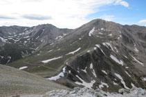 Bastiments, pico de Freser y pico del Infern.