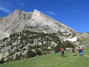 Gra de Fajol (2.714m) por el espol�n NE