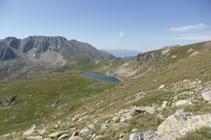 Portella Blanca de Andorra y lago de las Passaderes.