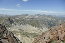 Morfología glaciar del sector nororiental de Andorra.