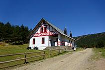 Refugio de Comes de Rubió.