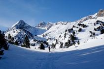 Tuc de la Llança (2.659m).