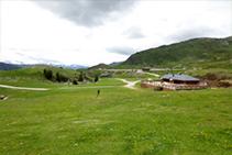 Prados alpinos en el Pla de Beret.