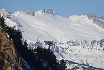 Glaciares del macizo de la Maladeta.