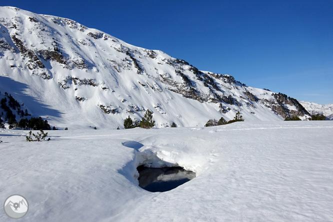 Lago de Baciver desde el Pla de Beret 1