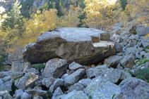 Una de la denominadas Pedres Balladores.