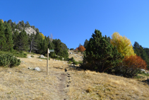 Desvío del valle de Claror.