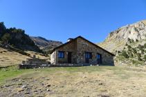 Refugio de Claror.