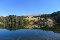 El lago de la Nou.