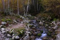 El río Madriu.