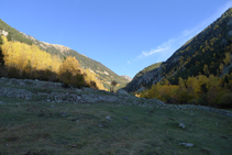 Vistas del valle de Madriu (E).