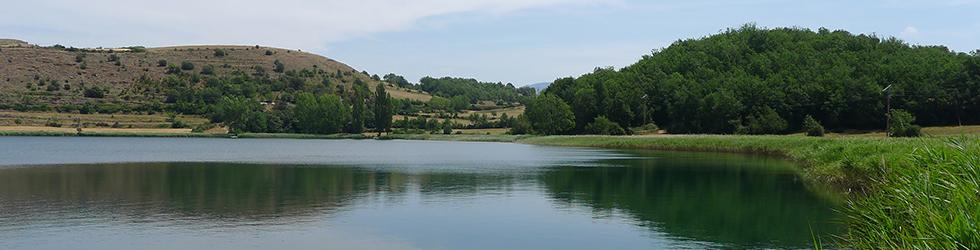Estany de Montcortès desde Senterada