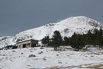 Refugio del Pradell, a 2.115m de altitud.