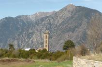 Iglesia de Sant Miquel de Engolasters.