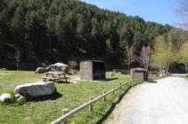 Zona de picnic de la Fuente de la Closa.